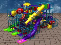 indoor playground equipment by Prime Play Systems
