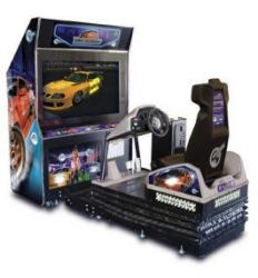 arcade machines and games include coin operated games