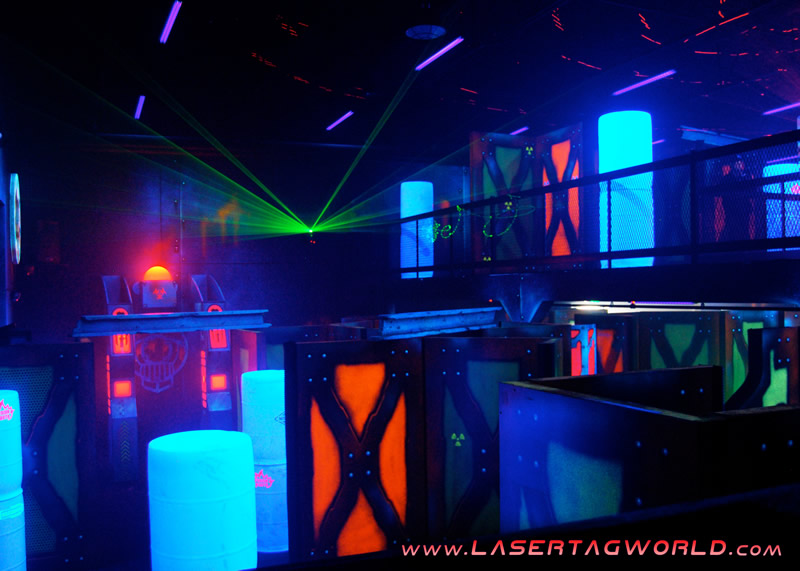 new laser tag arena by creative works