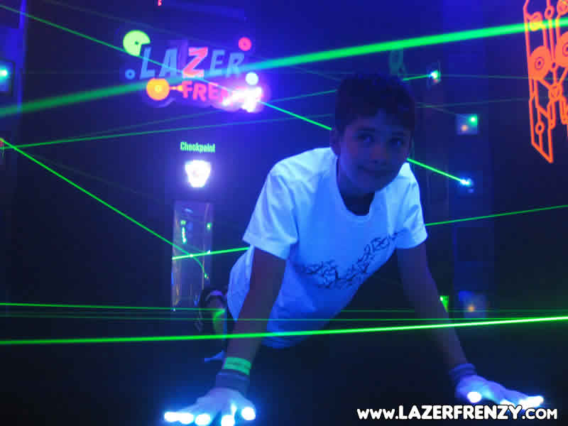 for the fun of lazer frenzy