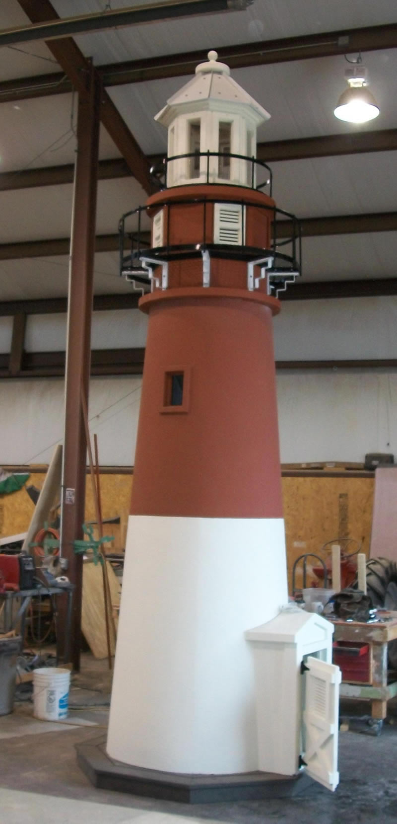 themed lighthouse for surf city